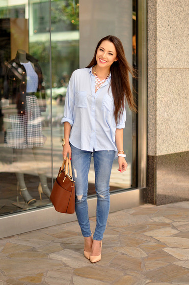 hapa time shoes bag blogger blouse