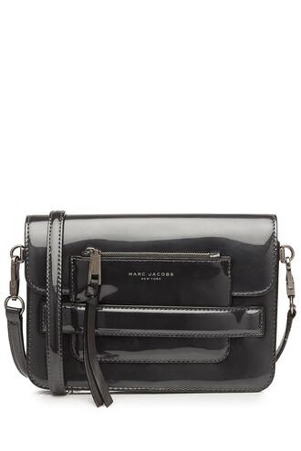 bag shoulder bag leather silver