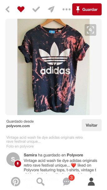 5dc9a0a8acb3e shirt red adidas black