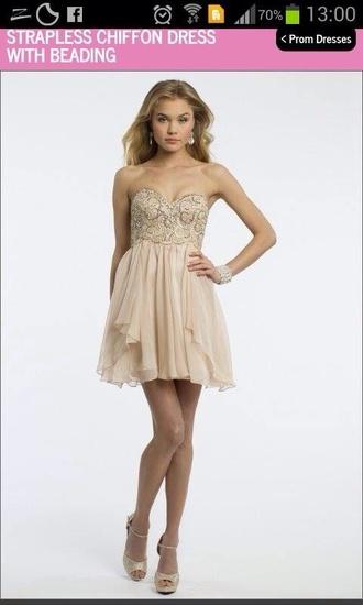 dress boobtube sequins prom dress