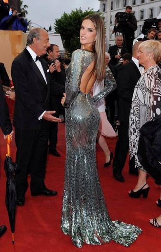 dress alessandra ambrosio