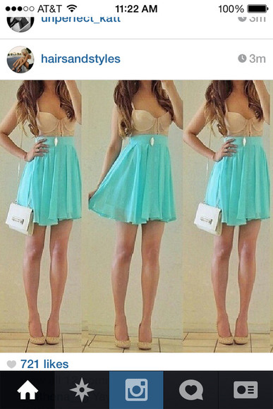 nude cute dress nude dress clothes cute dress light blue blue dress graduation dress graduation pretty instagram too cute