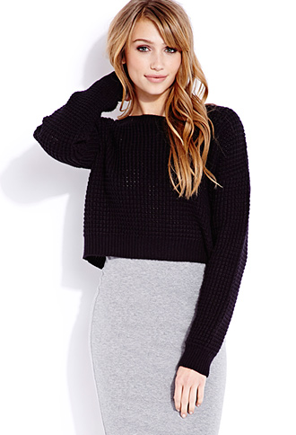 Cozy Cropped Sweater | FOREVER21 - 2000074098