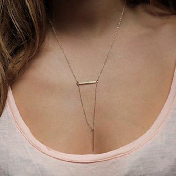 necklace triangle necklace jewels fine necklace tiny necklace