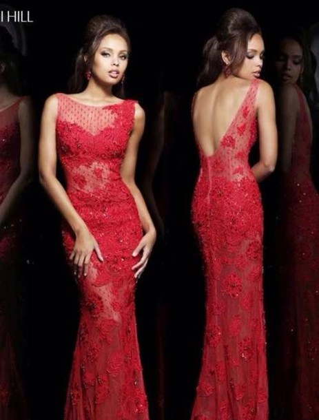 dress red prom dress prom dress sparkly prom dress gown