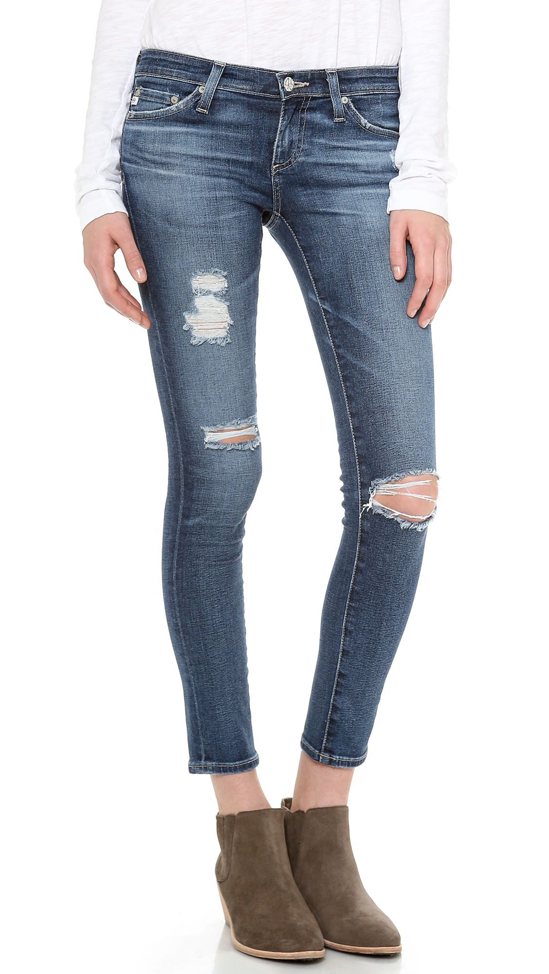 AG Adriano Goldschmied Ankle Legging Jeans | SHOPBOP