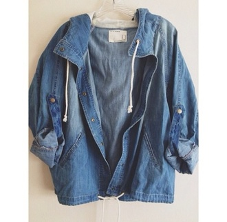 vintage retro jacket denim jacket winter jacket