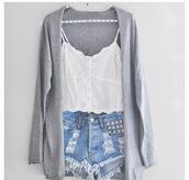 t-shirt,clothes,top,crop tops,shorts,cardigan,blouse,sweater,jacket,skirt,pants,grey,cute,studded,lace,lace top,white,denim,studs,cut offs,tank top,High waisted shorts,denim shorts,ripped shorts,bohemian,shirt,white tope,grey jacket,outfit,dopestuff,buttons,crop,cropped,thin,white top,lace lining,button down,thin straps,white tank top,white crop tops,bralette,spagetti straps,mesh,summer,tumblr,high waisted,tumblr shorts,cotton,linen,delicate,pretty,spring,sheer,soft grunge,pastel goth,acid wash,ripped,vintage,vintage shorts,damages,jeans,high waisted blue shorts,high waisted denim shorts,vest,waistcoat,beautiful,whole oufit,distressed denim shorts,grey cardigan,trendy,singlet,studded shorts,gray cardigan,spaghetti strap,summer top,stomachshowing,ruffle,make-up