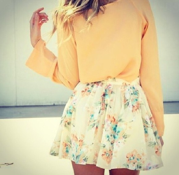 skirt yellow skirt yellow top outfit