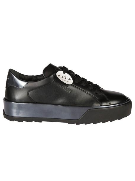 Hogan classic sneakers black shoes