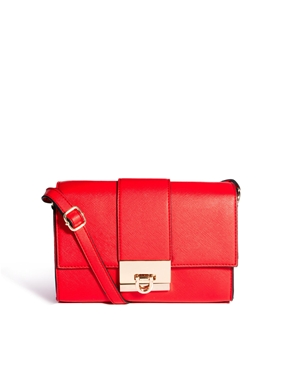 ASOS | ASOS Cross Body Bag With Clean Lock at ASOS