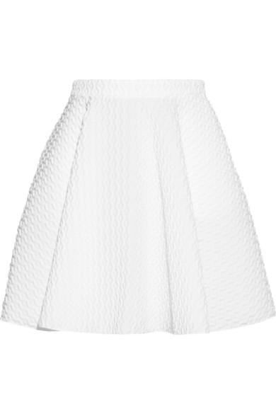 Faith Connexion|Flared matelassé skirt|NET-A-PORTER.COM