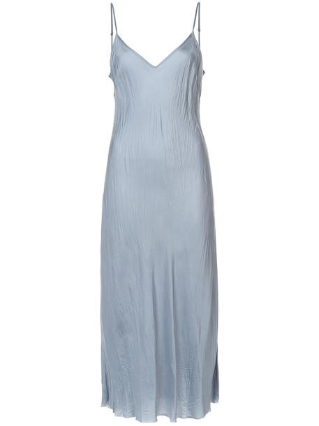 Organic by John Patrick dress slip dress women blue
