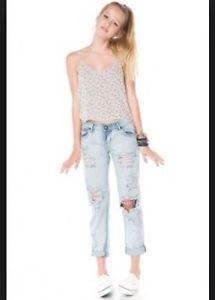 Brandy Melville Jacqueline Tank Cami Crop TOP Gray Floral Osfm | eBay