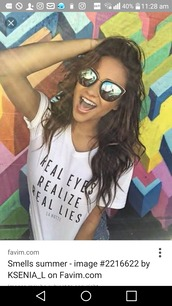 sunglasses,shay mitchell,cat eye,mirrored sunglasses,glasses,sunnies,accessories,Accessory,pretty little liars,celebrity style,celebrity,summer,summer accessories