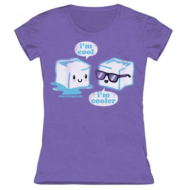 Shirt: ice, cool shirts, purple t-shirt - Wheretoget