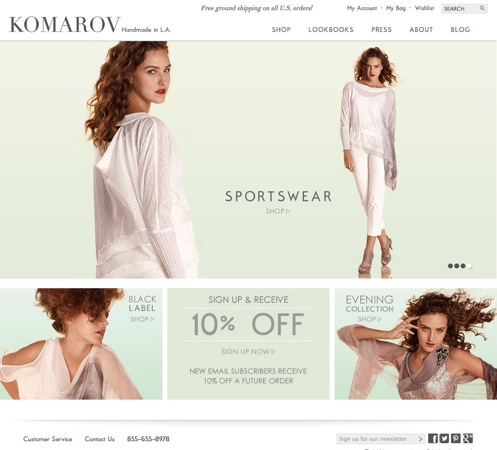 Komarov Clothing Official Site - Komarov Clothing