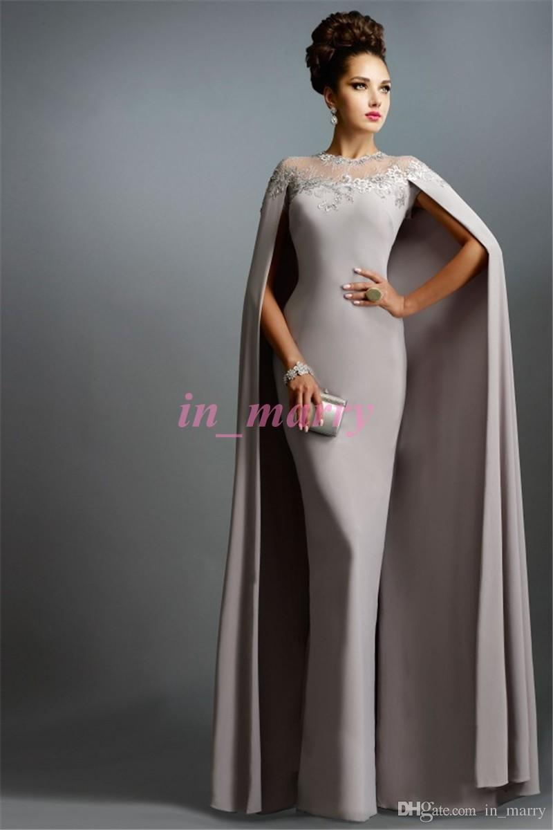 Spring Janique Mother Of the Bride Pant Suits Silver Grey Sheath ...