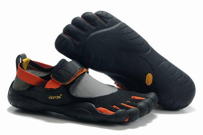 mens five fingers kso black orange online