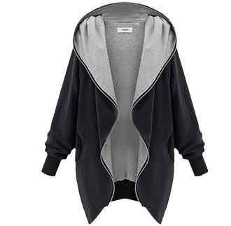 sweater black zip hoodie