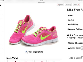 neon sportswear nike running shoes nike free run nike flyknit roshe runs running shoes