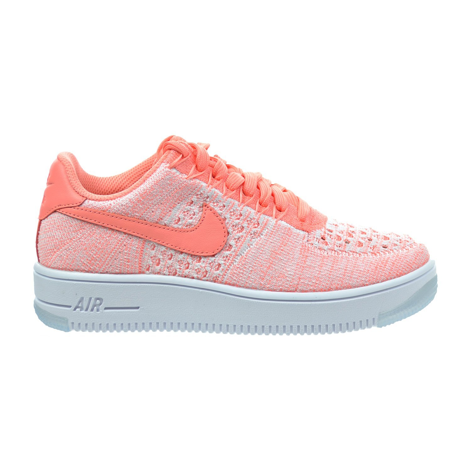 4a87e5460a26 ... coupon amazon nike air force 1 flyknit low womens shoes atomic pink  820256 600 fashion sneakers