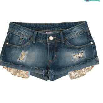 shorts cute shorts glitter gold sequins jeandress