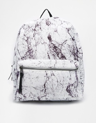 bag marble backpack