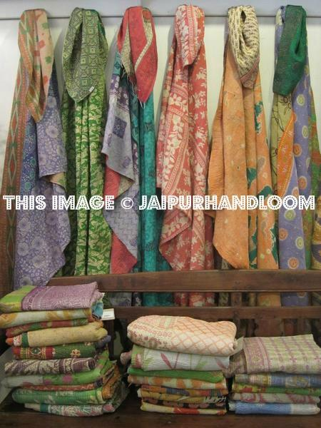 kantha sari scarves - Wholesale 10 pc