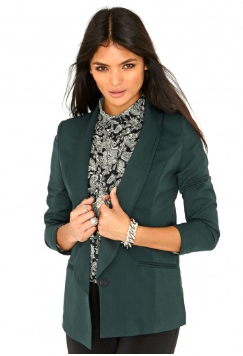 Eilise Long Line Blazer - Blazers - Missguided