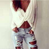 top,loose top,long sleeve top,white,black,yellow,fashion style,beautiful