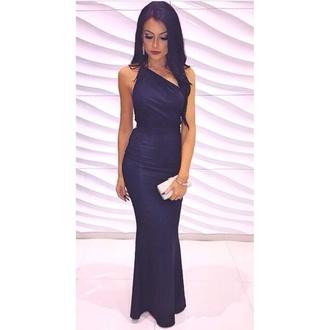 dress formal dresses evening formal dress one sholder mermaid style