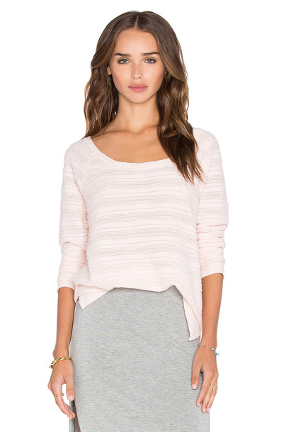 Bella Luxx pullover oversized pink