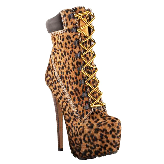 ZigiNY Z-JO Stiletto Boot in Leopard Pony – FLYJANE