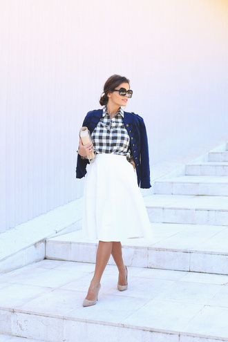 seams for a desire blogger jacket shirt skirt shoes bag t-shirt jewels sunglasses