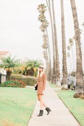 modern ensemble,blogger,dress,shoes,bag,sunglasses,jewels,ankle boots