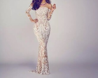 dress long prom dress nude dress lace dress sexy dress prom mermaid prom dress curvy dress
