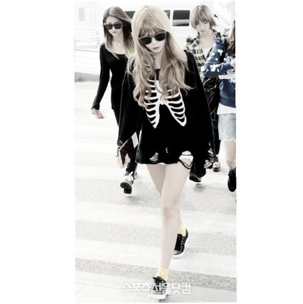 Sweater Taeyeon Snsd Girls Generation Kpop Kpop Kpop Tshirt Korean Fashion Korean