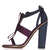RASPBERRY Satin Bow Sandals - 20% Off Shoes Boots And Bags  - Sale & Offers  - Topshop