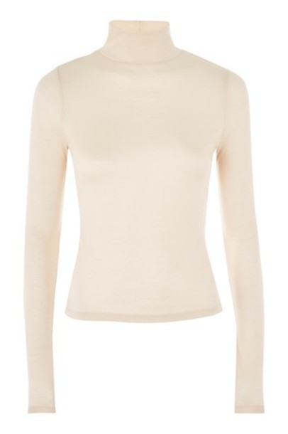 Topshop top long cream