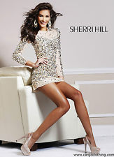 Sherri Hill Sequinned Cocktail Dress 8421 | eBay