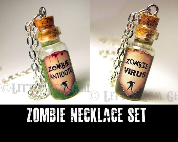 jewels zombie bff necklace