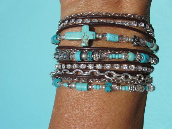 jewels fleurdesignz boho wrap bracelet