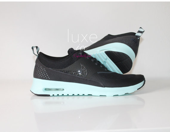 nike air max thea black and mint