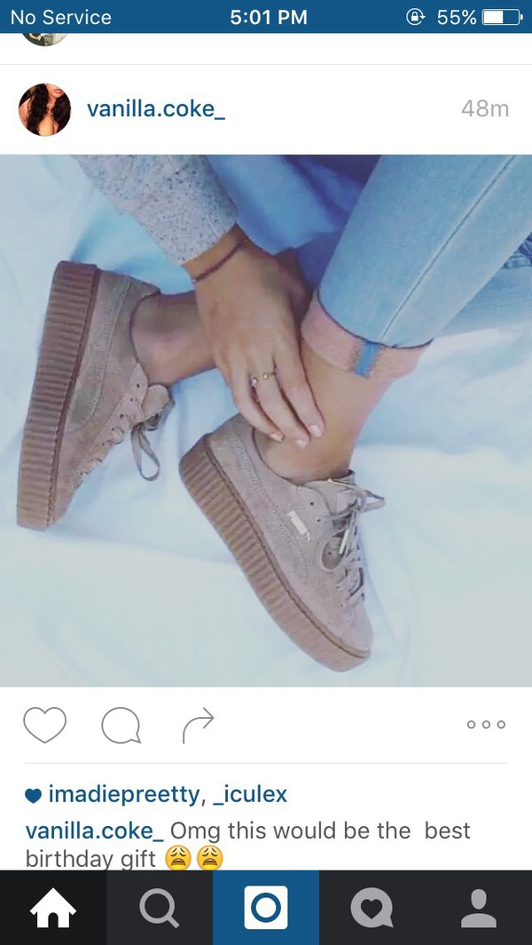 new style e8a66 72457 Puma Creepers Womens Rihanna wearpointwindfarm.co.uk