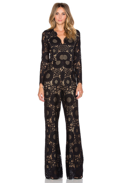 Alexis jumpsuit long black