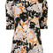Marni - 'magma' print mock neck blouse - women - silk - 40, silk