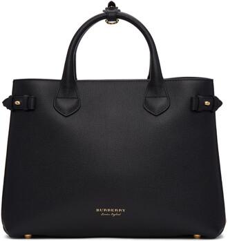 tan black bag