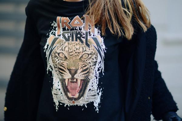 sweater irongirl tiger t-shirt