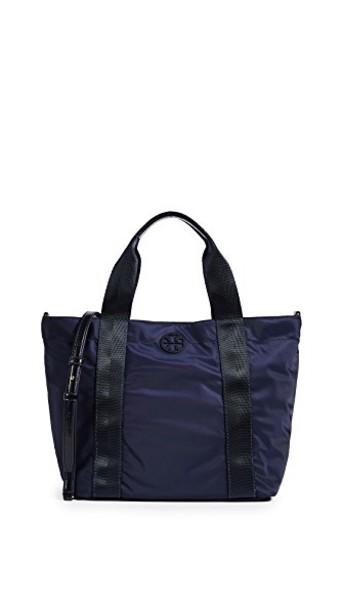 Tory Burch zip navy bag